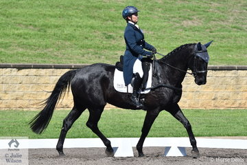 Natalie Blundell and Summer Rhythm hold 14th place after the dressage phase Bates Saddles CCI4*-S.