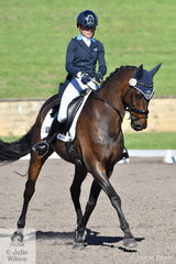 Dondiablo was one of Amanda Ross' three rides in the Bates Saddles CCI4*-S.