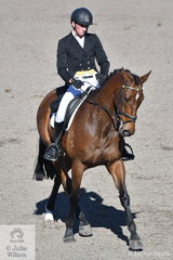 Sam Woods and Cage Fighter competed in the Bates Saddles CCI4*-S.