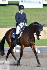 Jess Roe rode Aurelia De Gwaihir in the Horseland Dural CCI3*-S dressage today and heads across country tomorrow.