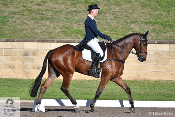 Andrew Cooper and Oaks Onyx hold 12th place after the dressage phase of the Bates Saddles CCI4*-S.