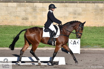 Jessica Grosmann and Belmont Backstage completed their dressage phase of the Bates Saddles CCI4*-S on a warm and sunny autumn day.