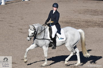 Tara Rogers and Hunter Bullimore are in third place after the dressage phase of the Horseland Dural CCI3*-S.
