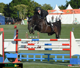 First horse on course for the day in the Future Stars class was Victorian rider, Brook Dobbin and Gina MVNZ