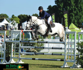 It was a great finish to the weekend for Sally Simmonds and Chio MS taking out the win in the 1.25m Junior Championship
