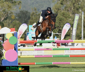 In typical Tom McDermott style, he really put the question of speed matters to Alpha Activity who responded superbly to secure their first placing in the 1.50m Grand Prix on the final day of weekend 1 of competition