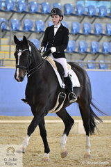 Zoe Vorenas rode her new horse Neversfelde Kipling to take out the CPEDI Grade IV Championship.