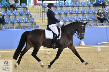 With some wonderful flying changes, Matilda Carnegie and her horse, Devils Chocolate won the Para-Equestrian CPEDI IV Freestyle Test.