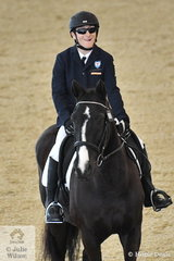 Popular Para equestrian, Ryan McNeil was pleased with his performance riding Paragon Perry in the CPEDI Grade 1 Freestyle.