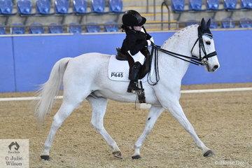Bridget Murphy rode her wonderful Australian Pony, Koora Lyn Sunrise to take second place in the Para-Equestrian CPEDI Grade II Freestyle test.