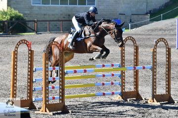 Carlene Barton riding Henrik APH finished in third place in the Hills District Farm Machinery CCI2*-S.