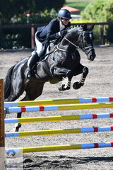 Kim Leibowiz and Widgee Total Tribute took second place in the Brighton Saddlery CCI2*-L.