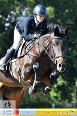 Olivia Barton rode APH Witchcraft to fourth place in the Horseland Dural CCI3*-S.