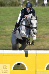 Tara Rogers and the Thoroughbred Hunter Bullimore placed fifth in the Horseland Dural CCI3*-S.