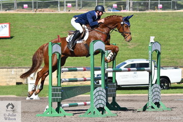 Simon Tainsh rode Remi Lord of the Realm to second place in the Horseland Dural CCI3*-S.