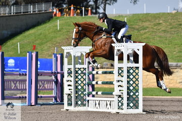 Olympian Rebel Morrow rode the Thoroughbred Togo to third place in the Horseland Dural CCI3*-S.