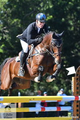 Tim Boland and Menlo Park won the Horseland Dural CCI3*-S with a score of 44.20.