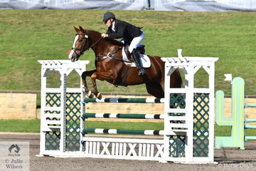 Gordon Bishop riding Advantage Hill placed third in the Performance Saddlefits CCI3*-L.