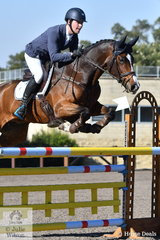 Andrew Cooper riding Riverbreeze took second place in the Performance Saddlefits CCI3*-L.
