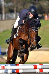 Andrew Cooper and Oaks Onyx took third place in the Bates Saddles CCI4*-S.