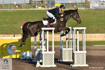 Shane Rose rode his Pumpin to finish in second place in the Bates Saddles CCI4*-S.