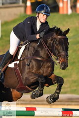 Thea Horsley riding Kelecyn Supernatural placed fourth in the MacArthur Automotive CCI4*-L.