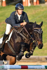 Sam Lyle rode Superclass to third place in the MacArthur Automotive CCI4*-L.