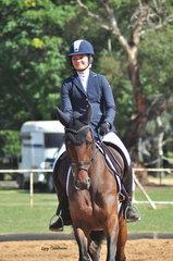 Belle Stakkara ridden by Annabelle Trainor