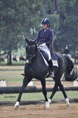Lara Pinta Orlando ridden by Sally-ann Quigley
