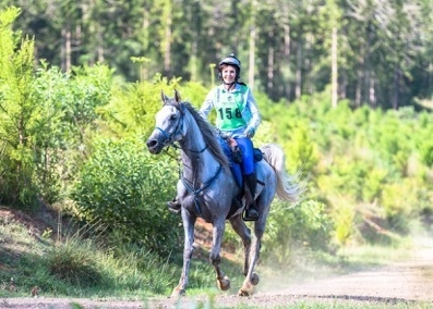 Meleita Dart from Clagiraba on Cameo Rhodezia, she is competing in the 120km this weekend, she has already qualified for the 2019 Tom Quilty Gold Cup (credit Sarah Sullivan)