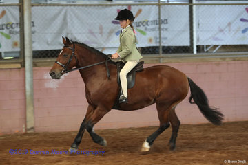 Childrens Ridden Section D - Hope Springs Lucy Lou - Richard Davey