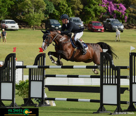 Keeping busy with multiple rides at the AQUIS Champions Tour was Mathew Kidston, pictured in the Gold Tour 1st Qualifier with the ride on Calgary GNZ.