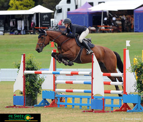 Competing in the Progressive Rider Tour was Jessie Smith her New Zealand bred Ngahiwi Cisco