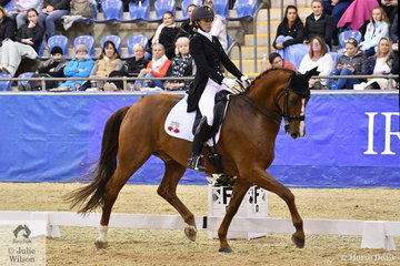 New Zealand representative, Wendi Williamson rode her Don Amour MH to produce a technically correct test for a score of 72.56% and second place in the Equestrian NSW Grand Prix Freestyle CDI 3*.