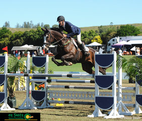 Being one of two to jump a double clear round, Ron Parlevliet and Flashdrive stopped the clock at 53.39 seconds.
