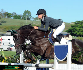First to jump off in the Junior Tour Final was Maleah Lang-McMahon on Fernhill Zinzan at the AQUIS Champions Tour held at Elysian Fields.