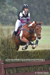 "Hilary Makings rode ""Miss Exquisite"" in the Grade 3 Section 1 representing Mentone Pony Club"