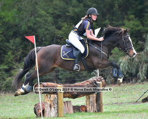 "Bridget Gallagher rode ""Bobby"" in the Grade 3 Section 1 representing Briagolong & District Pony Club"
