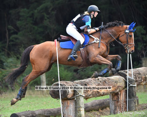 "Chelsea Wilson rode ""Willow Park Frankie"" in the Grade 2 representing Lilydale & Mooroolbark Pony Club."