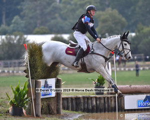"Winner of the Grade 1 110cm Championship, Kyle Kroeger riding ""Platinum Fire"" representing Seville Pony Club"