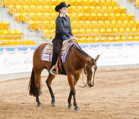 Senior Horse Trail, Exceptionally Hott, Courtney Norbury