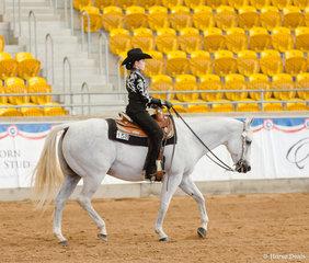 Novice Yth 12-14yrs West Horsemanship, Denims The Menace, Charley Lalor