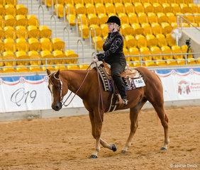 RWD Western Horsemanship, Winderadeen K O Boom, Pamela Phillips