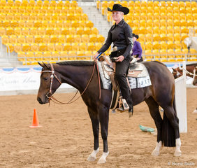 3 yr old Trail, Clairveaux Hot N Sudden, Kristy Mobberley