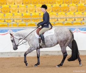 Junior Horse HUS, GJC Huntin For An Angel, Natasha Humphries