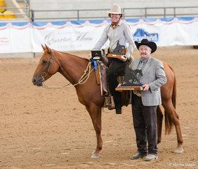 Bill Ricketts Snr Horse Reining,  It Whiz Easy, Katherine Lyons