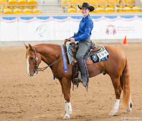 All Age Youth Reining, Cuttalenas Little Rooster, Jessica Smart