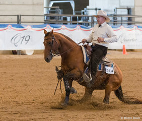 Select Amateur Reining, Hell Reysn Spin, Stephen Kelly