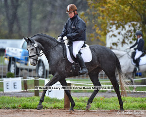 """Equine Affair Duchess"" in the EvA80 Section A ridden by Victoria Abbott"