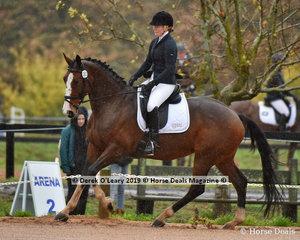 "Leela MacDonald in the EvA 80 Section A riding ""Jubilee Jive """